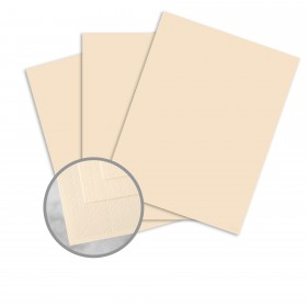 Via Linen Cream White Card Stock - 23 x 35 in 65 lb Cover Linen  30% Recycled 750 per Carton