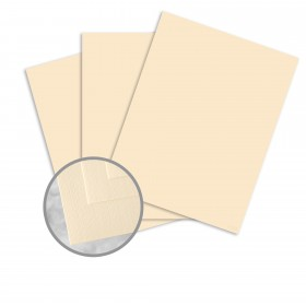 Via Linen Ivory Paper - 25 x 38 in 70 lb Text Linen  30% Recycled 1000 per Carton