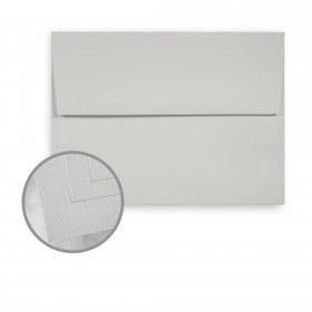 Via Linen Light Gray Envelopes - A6 (4 3/4 x 6 1/2) 70 lb Text Linen  30% Recycled 250 per Box