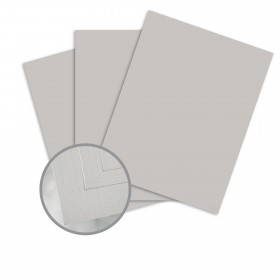 Via Linen Light Gray Paper - 25 x 38 in 70 lb Text Linen  30% Recycled 1000 per Carton