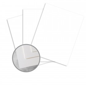 Via Satin Bright White Paper - 23 x 35 in 70 lb Text Satin  30% Recycled 1000 per Carton