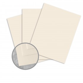 Via Satin Warm White Card Stock - 26 x 40 in 100 lb Cover Satin  30% Recycled 400 per Carton