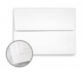 Via Satin Pure White Envelopes - A7 (5 1/4 x 7 1/4) 70 lb Text Satin 250 per Box