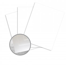 Via Satin Radiant White Paper - 25 x 38 in 70 lb Text Satin  30% Recycled 1000 per Carton