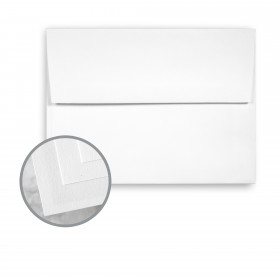 Via Smooth Bright White Envelopes - A7 (5 1/4 x 7 1/4) 80 lb Text Smooth  30% Recycled 250 per Box