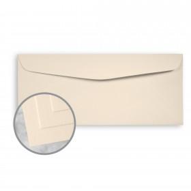 Via Smooth Cream White Envelopes - No. 10 Commercial (4 1/8 x 9 1/2) 70 lb Text Smooth  30% Recycled 500 per Box