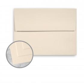 Via Smooth Cream White Envelopes - A7 (5 1/4 x 7 1/4) 70 lb Text Smooth  30% Recycled 250 per Box