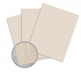Via Smooth Flax Card Stock - 26 x 40 in 80 lb Cover Smooth  30% Recycled 500 per Carton