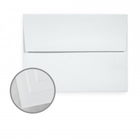 Via Smooth Light Blue Envelopes - A7 (5 1/4 x 7 1/4) 70 lb Text Smooth  30% Recycled 250 per Box