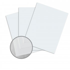 Via Smooth Light Blue Card Stock - 26 x 40 in 80 lb Cover Smooth  30% Recycled 500 per Carton