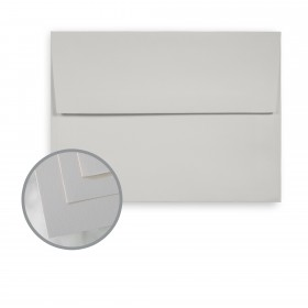 Via Smooth Light Gray Envelopes - A7 (5 1/4 x 7 1/4) 70 lb Text Smooth  30% Recycled 250 per Box