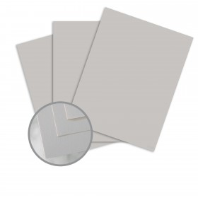Via Smooth Light Gray Card Stock - 26 x 40 in 80 lb Cover Smooth  30% Recycled 500 per Carton