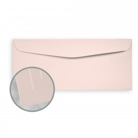 Via Smooth Light Pink Envelopes - No. 10 Commercial (4 1/8 x 9 1/2) 70 lb Text Smooth  30% Recycled 500 per Box