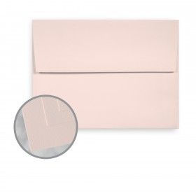 Via Smooth Light Pink Envelopes - A7 (5 1/4 x 7 1/4) 70 lb Text Smooth  30% Recycled 250 per Box