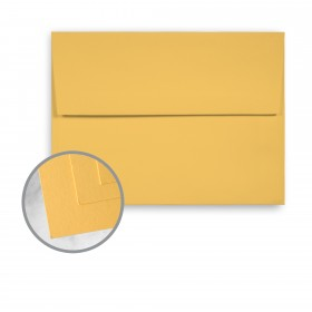 Via Vellum Sunflower Envelopes - A2 (4 3/8 x 5 3/4) 80 lb Text Vellum  30% Recycled 250 per Box