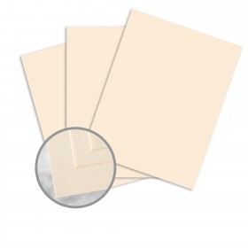 Via Vellum Warm White Card Stock - 23 x 35 in 65 lb Cover Vellum  30% Recycled 750 per Carton