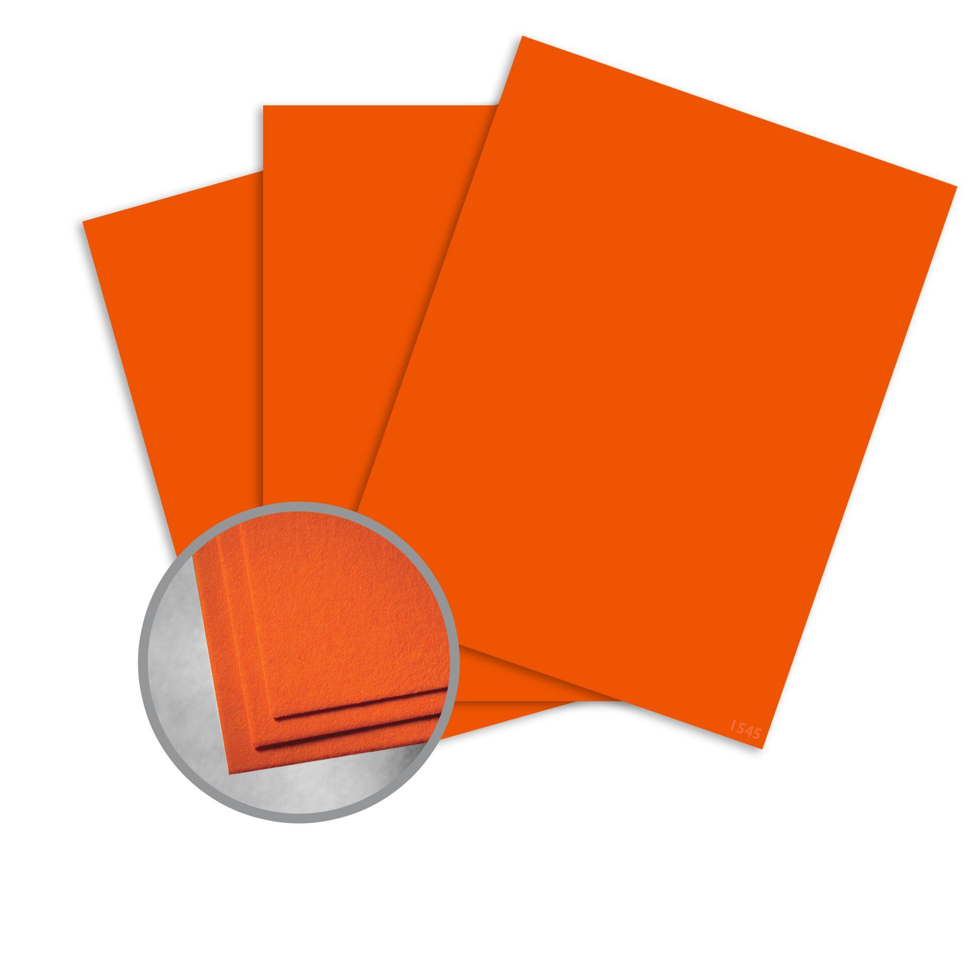 Astrobrights 22761 Color Cardstock 8 1//2 X 11 250 Sheets 65lb Orbit Orange