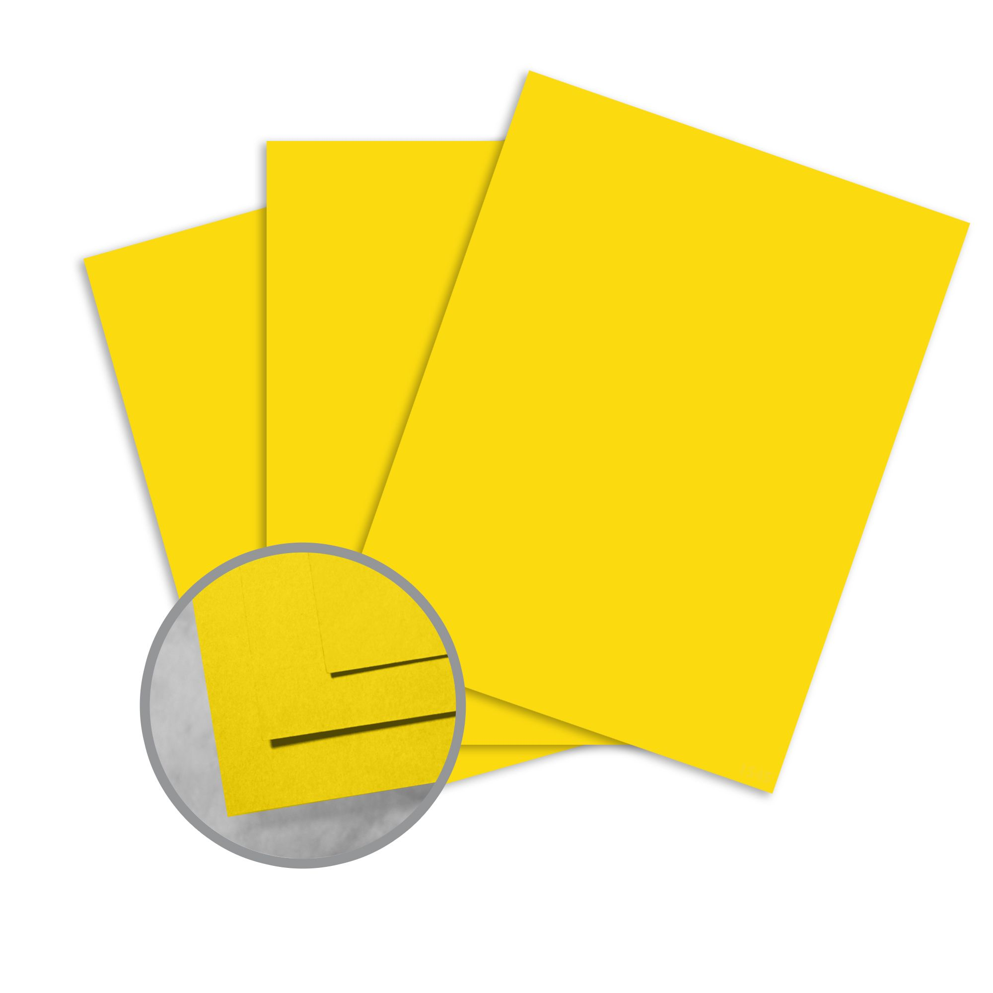 Astrobrights Solar Yellow Card Stock - 5 5/5 x 55 in 5 lb Cover Smooth 550  per Package