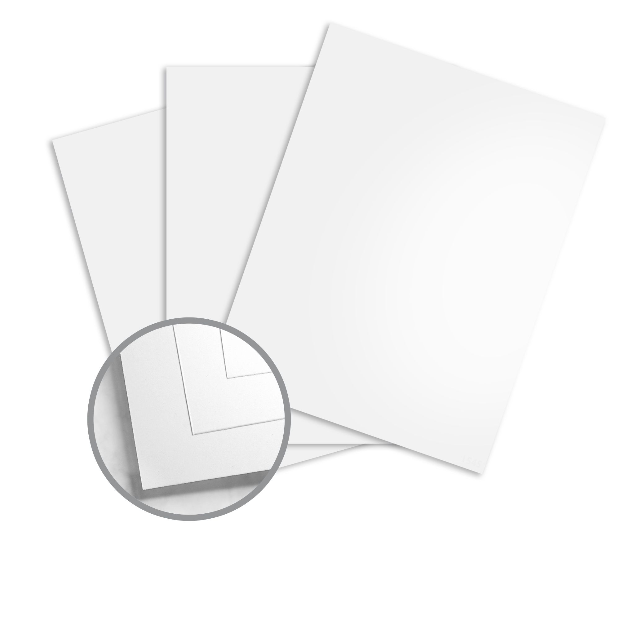 65lb 12 x 12 Fine Square Cardstock 176gsm Cover Bright White Thick Paper Card Stock Smooth Finish | 25 Sheets Per Pack
