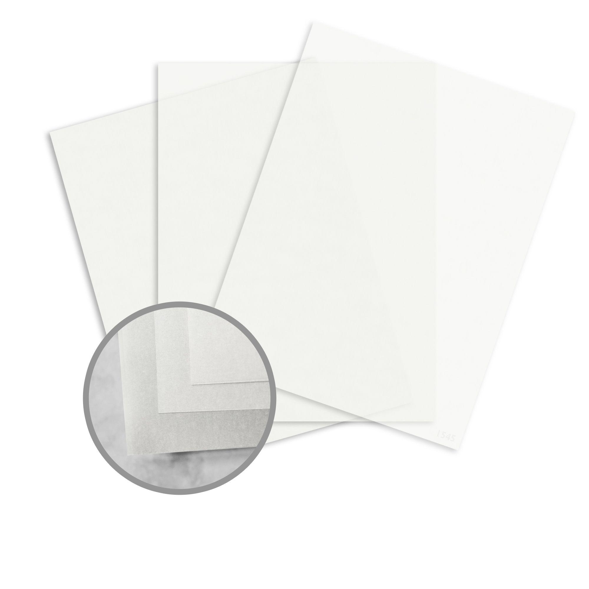 100 Vellum Sheets 8 12 x 11 Size Green Translucent Vellum Paper
