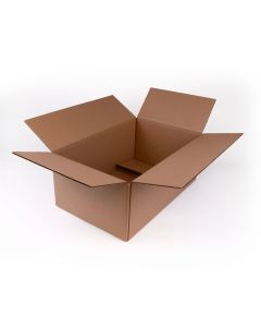 TPMS Brown Letter Head Shipping Box - 18 1/4 x 11 1/2 x 7 1/4 - 50 per Package