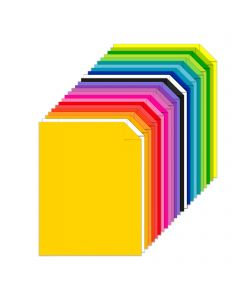 Astrobrights Spectrum 25-Color Assortment Cardstock - 8 1/2 x 11 in 65 lb Cover Smooth 75 per Package