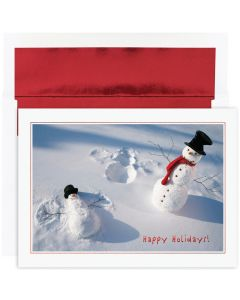 Snowman Angels Cards from the Fine Impressions Holiday Collection.