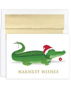 Holiday Gator Cards from the Fine Impressions Warmest Wishes Collection.