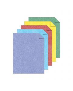 Astrobrights Metallic 5-Color Assortment Cardstock - 8 1/2 x 11 in 65 lb Cover Metallic 50 per Package