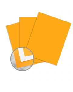 kaBoom! Orange Paper - 8 1/2 x 11 in 8 pt Cover Smooth C/1S 250 per Package
