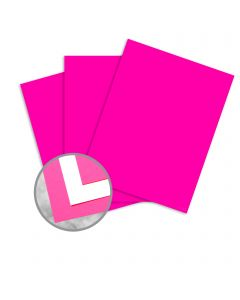 kaBoom! Raspberry Paper - 18 x 12 in 8 pt Cover Smooth C/1S 250 per Package