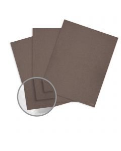 Curious Metallics Chestnut Card Stock - 27 1/2 x 39 3/8 in 111 lb Cover Metallic C/2S 100 per Package