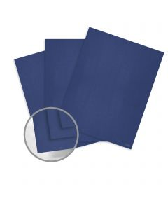 Curious Metallics Electric Blue Paper - 27 1/2 x 39 3/8 in 80 lb Text Metallic C/2S 250 per Package