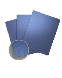 ASPIRE Petallics Blue Star Card Stock - 28 x 40 in 105 lb Cover Metallic C/2S 300 per Carton