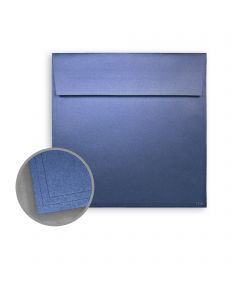 ASPIRE Petallics Blue Star Envelopes - No. 6 1/2 Square (6 1/2 x 6 1/2) 81 lb Text Metallic C/2S 250 per Box