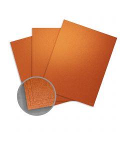 ASPIRE Petallics Copper Ore Card Stock - 8 1/2 x 11 in 98 lb Cover Metallic C/2S 200 per Package