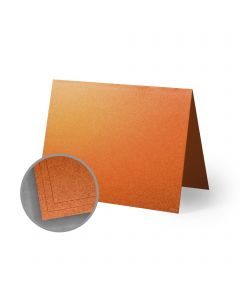 ASPIRE Petallics Copper Ore Folded Cards - A2 (4 1/4 x 5 1/2 folded) 98 lb Cover Metallic C/2S 400 per Carton