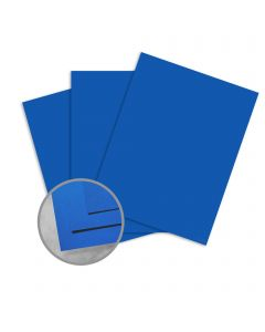 Astrobrights Blast-Off Blue Paper - 8 1/2 x 11 in 60 lb Text Smooth 500 per Ream