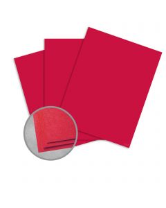 Astrobrights Re-Entry Red Paper - 8 1/2 x 11 in 50 lb Text Smooth  30% Recycled 500 per Ream