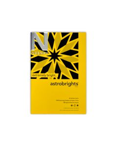 Astrobrights - Neenah Paper Brightly Colored Text Paper and Cover Paper Sample Swatchbook and Professional Graphics Tool