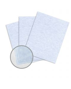 Astroparche Blue Card Stock - 23 x 35 in 65 lb Cover Vellum  30% Recycled 500 per Carton