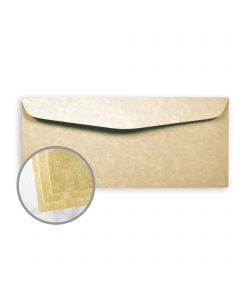 Astroparche Sand Envelopes - No. 10 Commercial (4 1/8 x 9 1/2) 60 lb Text Vellum  30% Recycled 500 per Box