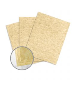 Astroparche Sand Card Stock - 8 1/2 x 11 in 65 lb Cover Vellum  30% Recycled 250 per Package