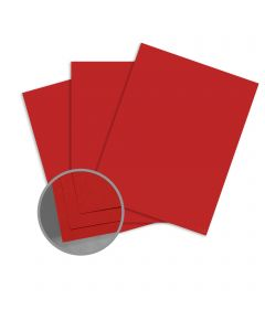 Carnival Red Card Stock - 19 x 13 in 80 lb Cover Vellum Digital with I-Tone 500 per Carton