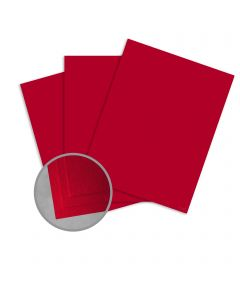 Carnival Red Paper - 25 x 38 in 70 lb Text Vellum  30% Recycled 1000 per Carton