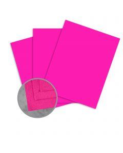 Cascata Cyclamen Card Stock - 12 x 12 in 80 lb Cover Felt 25 per Package