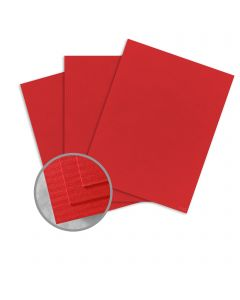 CLASSIC COLUMNS Red Pepper Card Stock - 26 x 40 in 80 lb Cover Embossed  30% Recycled 200 per Carton