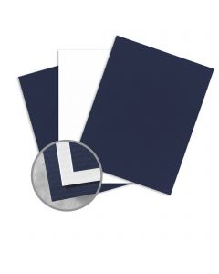 CLASSIC COLUMNS Patriot Blue/Avalanche White Card Stock - 26 x 40 in 120 lb Cover Duplex Columns Embossed/Smooth  15% Recycled 200 per Carton
