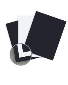 CLASSIC Techweave Epic Black/Solar White Card Stock - 26 x 40 in 120 lb Cover Duplex Techweave 200 per Carton