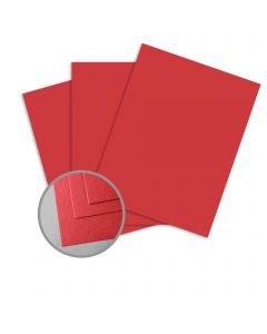 ColorMates Light Berry Red Card Stock - 8 1/2 x 11 in 65 lb Cover Smooth 250 per Package